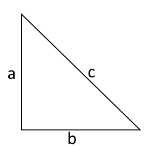 right angled triangle