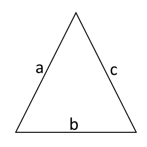 roof calculator - triangle